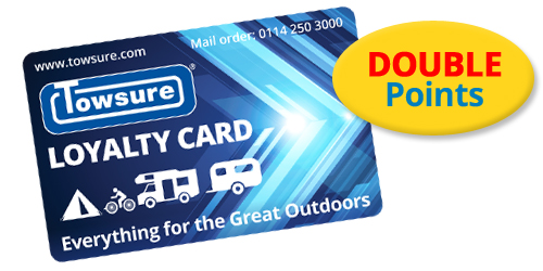 Towsure Loyalty Card earning Double Points